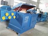 新环保型无酸洗全自动送料剥壳调直拉丝SC-28B除锈机