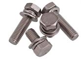 304不锈钢 外六角组合螺钉 GB9074.17