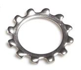 304不锈钢 外齿锁紧垫圈 GB/T862