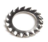 304不锈钢 外锯齿锁紧垫圈 GB/T 862.2