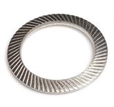 304不锈钢 双面齿防松垫圈 DIN9250