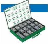 Bossard BN 20352 沉头纤维板螺钉分类盒 Z型十字槽,全螺纹