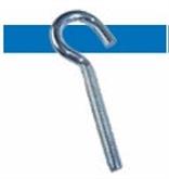 Bossard BN 54209 衣架钩式螺钉 带米制螺纹和带2个六角螺母