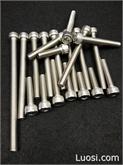 厂家直销 不锈钢螺栓 304螺丝 内六角螺丝