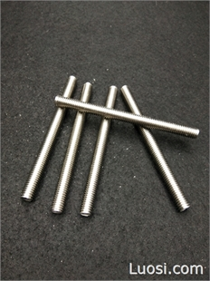 江苏华杰直销牙条牙棒 不锈钢螺栓 304螺丝 六角螺丝