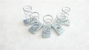 立禾/弹簧螺母/塑翼螺母/不锈钢铁块 (m10)