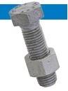 Bossard  BN 20728 SB螺栓组合 全螺纹 用于非预紧螺栓连接 钢  8.8 热浸镀锌