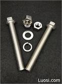 厂家直销 不锈钢螺栓 304螺丝 六角螺丝
