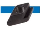 Bossard  BN 20197 用于T槽的菱形螺母 钢  10 发黑