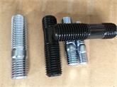 专业生产双头螺栓 高强度双头螺丝牙杆丝杆 氧化发黑