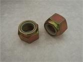 非金属嵌件六角锁紧螺母  GB889  M14   8级彩锌