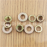 专业生产 彩锌螺母 弹垫 平垫 质量保证