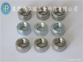 厂家直销环保镀锌压铆螺母 不锈钢304压铆螺母 S-M8-0东莞深圳螺母