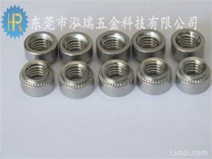 环保镀锌压铆螺母M3M4M5M6M8M10不锈钢304机箱机柜螺母全部现货
