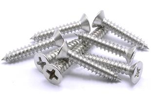 304不锈钢304不锈钢沉头自攻螺丝钉/