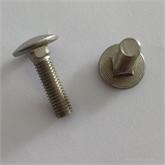 8.8 10.9级40CR 35CRMO 高强度镀锌马车螺栓 半圆头方颈螺丝马车螺丝