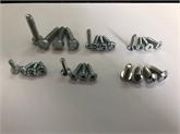 外六角凹穴、伞头十字、盘头梅花、沉头梅花、沉头十字三角牙螺丝(自锁螺钉)