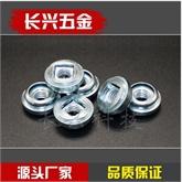 压铆螺母浮动螺母铁镀锌 AS-m3m4m6m5 非自锁调节压铆螺母