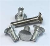 生产优质GB14 DIN603 8.8/10.9级35CRMO40CR高强度半圆头方颈马车螺栓马车螺