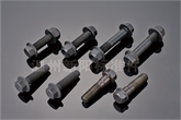 厂家直销配套质量法兰螺栓 黑色达克罗 美制非标六角法兰面螺栓