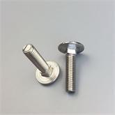 生产优质GB14/12 DIN603镀锌40CR35CRMO高强度半圆头方颈马车螺栓马车螺丝