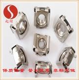 正宗201 304 316 不锈钢卡式螺母DIN6305浮动螺母笼式螺母非标定做加工
