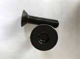 40cr35crmo8.8/10.9级发黑高强度内六角沉头螺栓汽车用内六角螺丝