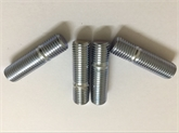 直销GB900/897/898/899镀锌10.9/12.9级M5-M64高强度双头螺栓牙条双头螺丝