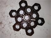 高强度螺母 高强度细牙螺母 钢结构螺母