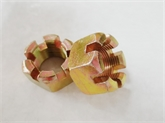 GB6181六角薄型开槽螺母
