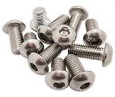 8.8级40cr高强度半圆头内六角螺栓M5-M20内六角螺丝镀锌内六角螺丝