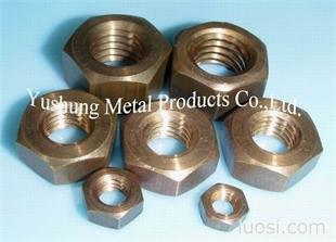 硅青铜螺母GB/T -6170   M5