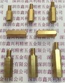PC板支撑柱 黄铜六角柱 六角定位螺柱