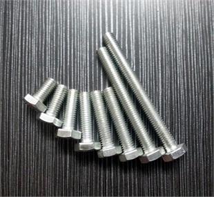 镀锌国标外六角螺丝  GB30螺丝 国标螺纹六角螺栓 镀锌螺栓