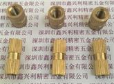 厂家直供 铜螺母 铜嵌件 铜镶件 滚花直纹 注塑 可定制环保 卡件