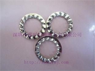 供应 DIN6798-I GB861.2 内锯齿锁紧垫圈 规格齐全 深圳厂家