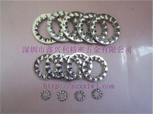 鑫兴利厂家专业生产DIN6798I/GB861.2内锯齿垫片 内锯齿锁紧垫圈