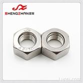 圣展M5螺母DIN934德标A2-70六角螺母304不锈钢标准螺母