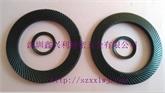 供应DIN9250双面齿防滑垫圈 齿面安全防松垫片 深圳厂家