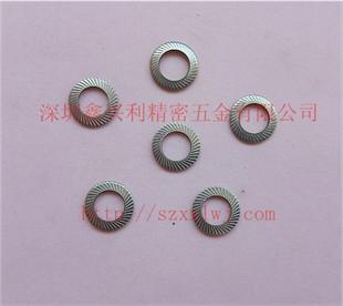 供应不锈钢 DIN9250带齿碟形防松垫圈 双面齿垫圈