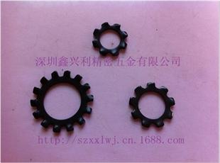 深圳厂家供应 不锈钢 弹簧钢 外齿锁紧垫圈 GB862