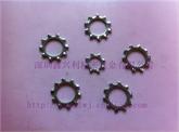 深圳鑫兴利厂家直销DIN6797A 外齿锁紧垫圈 外齿华司 大量库存