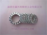 深圳厂家直销国标 德标 外锯齿垫圈 外齿华司 弹簧钢 品质好 做工细
