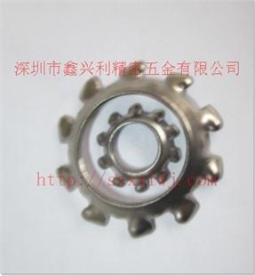 专业生产 DIN6797V 锥形外齿华司 锥形外齿垫圈