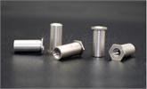 提供不锈钢压铆螺母柱 m3 压铆螺母柱 六角 通孔 SOS