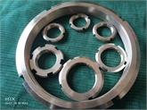 不锈钢圆螺母 止动螺母