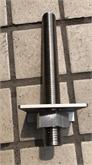 316不锈钢大牙棒  大型丝杆连接件 预埋件