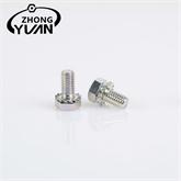 直销供应六角外锯齿组合螺栓 紧固连接件防滑螺母批发