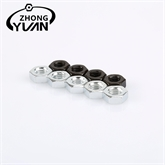供应国标碳钢发黑六角标准螺帽 外六形防滑螺母机械配件螺丝