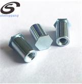 镀锌10B21盲孔压铆母螺柱六角螺柱BSO-3.5M3-10厂家直销 修改